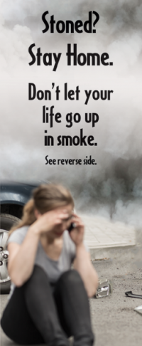 "3-4227 ""Don't let your life go up in smoke"" Info Card"