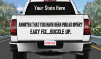 3-7012 Pickup Truck - Seat Belt Palm Card