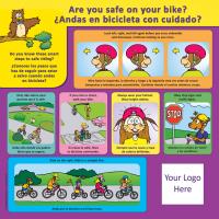 1-3305 Bicycle Safety Tabletop Display - Bilingual