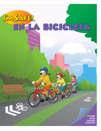 1-3290 I'm Safe! On My Bike Activity Book - Spanish