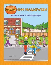 6-4050 I'm Safe! on Halloween Activity Book - English