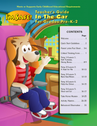 2-4701 I'm Safe! in the Car Presenter's Guide For Early Childhood Education