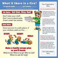 5-3742 Fire & Burn Prevention for Kids Tabletop Display