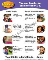 4-5030 Easy Reader Tip Sheet - Calling 9-1-1 - English