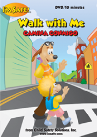 6-1729 I'm Safe! Walk With Me Video Spanish Edition