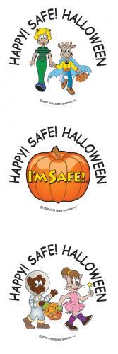 6-4065 Halloween Safety Tattoos