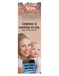 3-6055 Someone Is Counting On You Bookmark - English