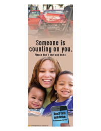 3-6060 Someone is Counting on You Banner Display - English