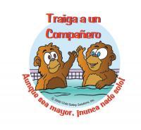 7-1501 Bring a Buddy Sticker - Spanish