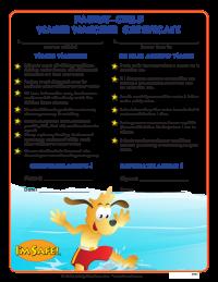 7-3000 Parent - Child Water Watcher Award Certificates - English