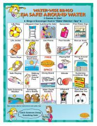 7-3150 Water Wise Bingo Game - English Front