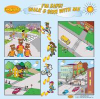 8-3970 Walk and Bike With Me Banner - Table Top