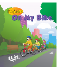 1-1010 I'm Safe! on My Bike Storybook - English