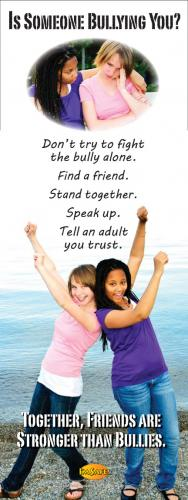 10-3020 Is Someone Bullying You?  Stand Up Banner Display