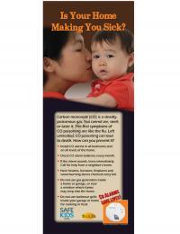 5-3755 Carbon Monoxide Poison Prevention Standup Banner