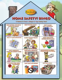 5-1713 Home Safety Bingo Game - English