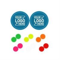 R612 Reflective Round Stickers
