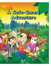 8-1700 I'm Safe! A Safe-Smart Adventure Activity Book - English