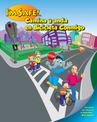 6-1345 SRTS Activity Coloring Book - Spanish Edition