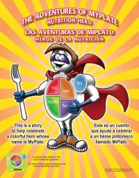 11-4005 MyPlate Large Format Bilingual Storybook