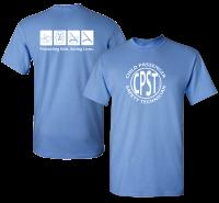 CPST Tee Carolina Blue