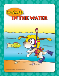 7-1465 I'm Safe! in the Water Large Format Storybook