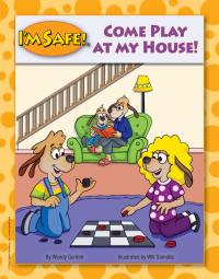 """5-1705 """"Come Play at My House"""" Home Safety Oversized Storybook"""