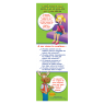 2-3670 I'm Safe! in the Car Booster Seat Bookmark Spanish