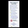 3-6219 No Phones in School Zones - Info Card BACK