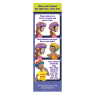 1-3030 I'm Safe! Bike Helmet Bookmark - Reverse Side