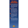 """3-6031 """"Friends Help Friends Focus on the Road"""" Bookmark  - Back"""