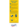 """FL2-3025 """"Is Your Child in the Right Car Seat?"""" Florida Bookmark - Side 2"""