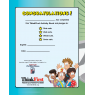 Back Cover - TF-2860 Think First with Street Smart Custom Activity Book