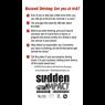 3-7030 NHTSA Buzzed Driving Screen Cleaner - Back