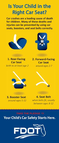 Car Seat Front Facing Age Florida