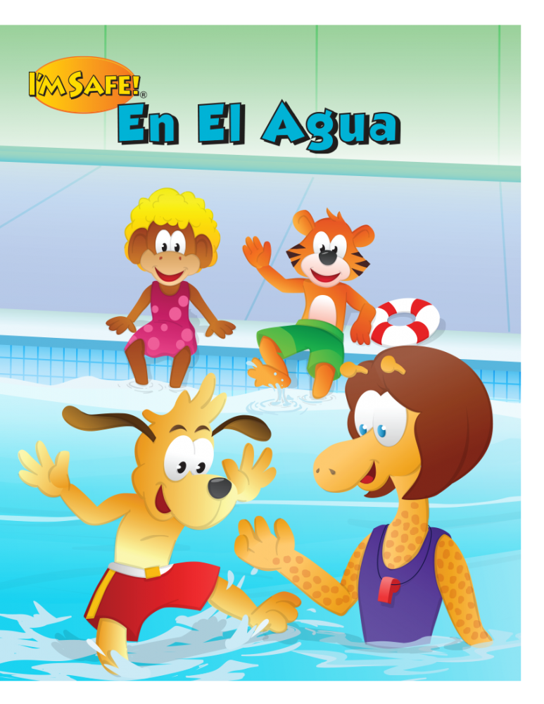 7-1451 I'm Safe! in the Water Activity Book - Spanish | I ...
