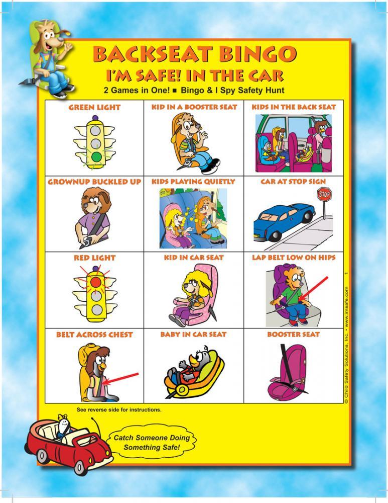 It is a photo of Dynamic Car Bingo Game