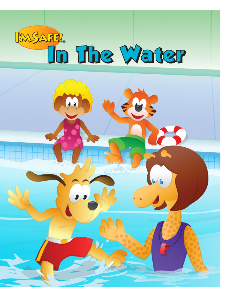 7-1460 I'm Safe! In The Water Storybook - English | I'm Safe