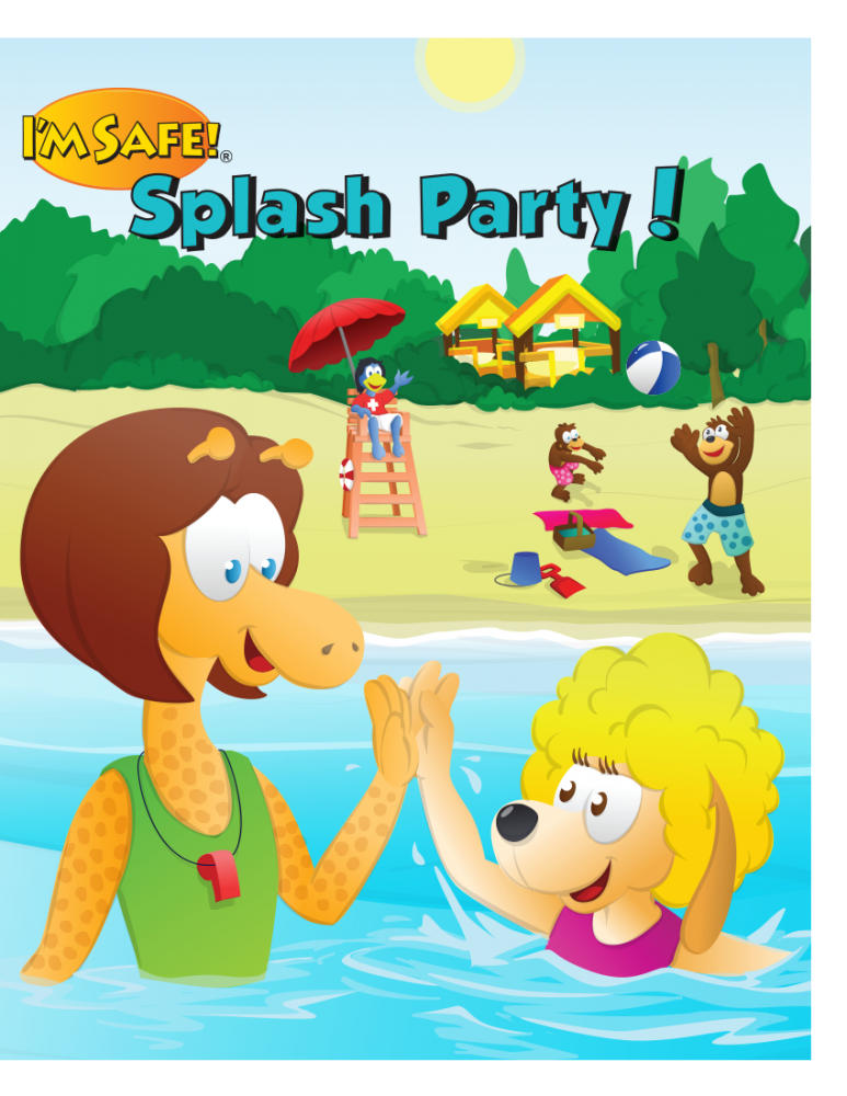 Splash Party Activity Book