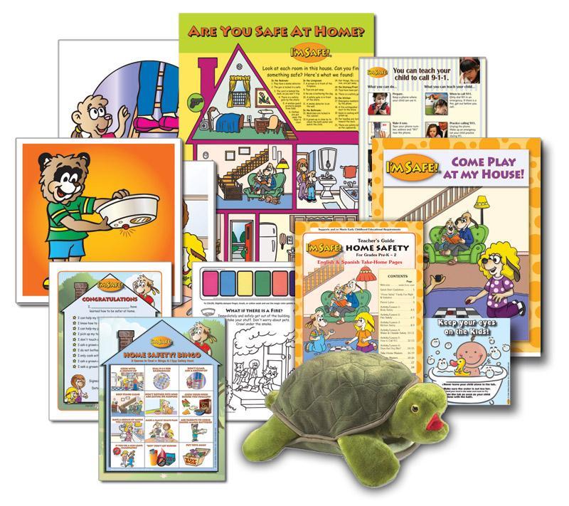 foto de 5-1701 Home Safety Education Kit for Early Childhood | I'm Safe