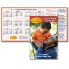 2021 Family Health & Safety Calendar