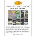 6-3827 I'm Safe! Activity Play Mat Instructions