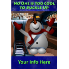 Holiday Travel Snowman Meme for Downloading