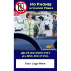 'No Phones in School Zones' Meme - Customizable