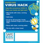 Safe Kids Handwashing Coronavirus COVID-19 Meme