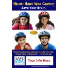 Safe Kids Helmet Hair Meme - Customizable