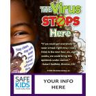 'The Virus Stops Here' - Customizable Safe Kids Meme