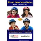 ThinkFirst Helmet Hair Meme - Customizable
