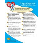 Parent Tip Sheet: 11 Ways to Keep Your Child Safer in a Car - Updated