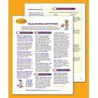 Halloween Talking Points and Activities